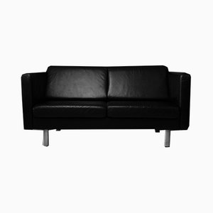 Leather Sofa by Rolf Benz, 1980s