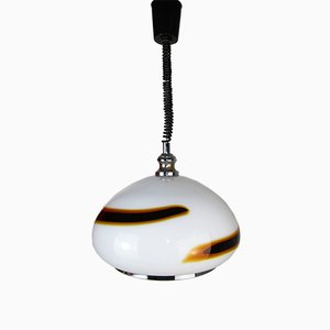 Vintage Murano Glass Ceiling Lamp from Venini