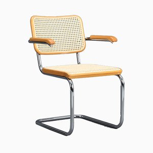 S64 Cantilever Chair by Marcel Breuer for Thonet, 1988