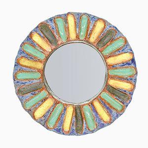 Specchio rotondo Mid-Century di Les Argonautes