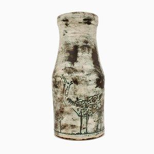 Vaso Mid-Century in ceramica di Jacques Blin, Francia, anni '50