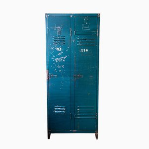 Two-Door Industrial Locker, 1950s