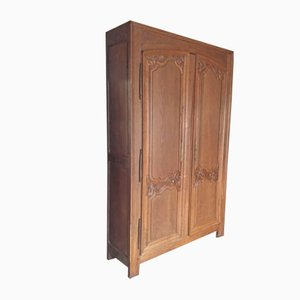 18th-Century Norman Oak Cabinet