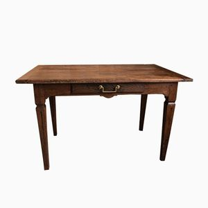 Antique Oak Officer's Desk