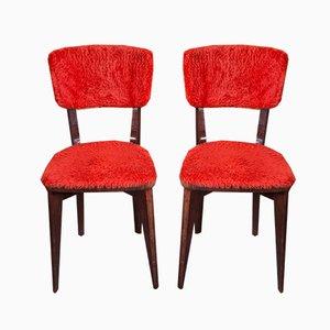 Chaises d'Appoint Vintage, 1960s, Set de 2