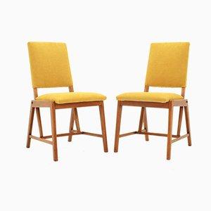 Deutsche Esszimmerstühle von GHG Mobel Pirna, 1970er, 2er Set