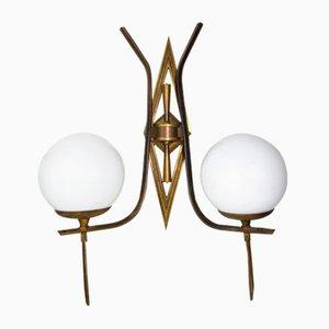 Geometrisches Art Deco Appliqué, 1920er