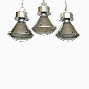 Industrial Lights from Predom Mesko, 1970s, Set of 3