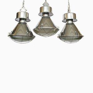 Industrial Lights from Predom Mesko, 1970s, Set of 3