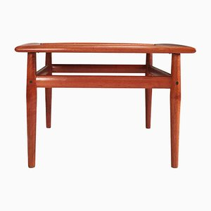 Vintage Danish Teak Coffee Table by Grete Jalk for Glostrup