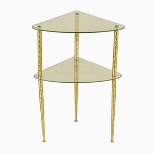 Vintage Corner Table from Fontana Arte