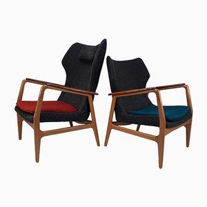 Lehnstühle von Aksel Bender Madsen für Bovenkamp, 1960er, 2er Set