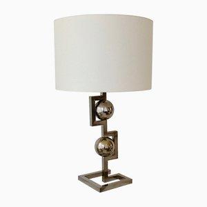Italienische geometrische Tischlampe, 1970er