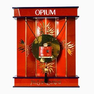 Lámpara de escaparate de perfumería YSL Opium vintage grande de Pierre Dinand para Yves Saint Laurent