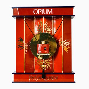 Large Vintage YSL Opium Perfume Display Lamp by Pierre Dinand for Yves Saint Laurent