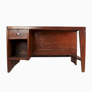 Mid-Century Indian Desk by Pierre Jeanneret, 1957