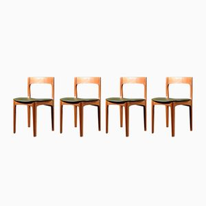 Mid-Century Teak Dining Chairs from Nathan, Set of 4