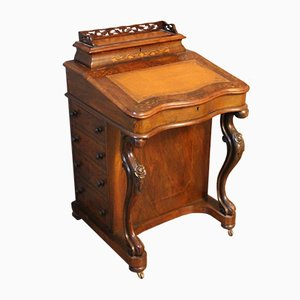 Antique Davenport Secretaire