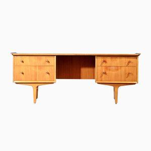 Mid-Century Vesper Schreibtisch aus Teak von Gimson & Slater