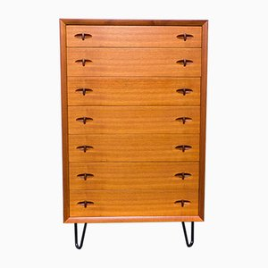 Danish Teak Dresser by H.W. Klein for Bramin, 1960s