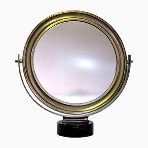 Espejo de mesa Narcisso italiano de Sergio Mazza para Artemide, años 60
