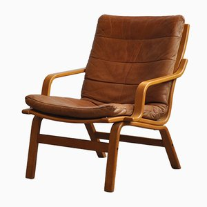 Vintage Leather Armchair, 1970s