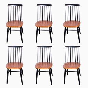 Skandinavische Stühle von Ilmari Tapiovaara, 1960er, 6er Set