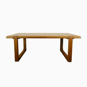 Solid Teak Coffee Table by Niels Bach, 1960s