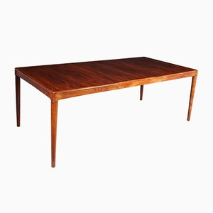 Mid-Century Rosewood Dining Table by H.W. Klein for Bramin