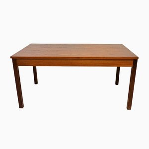 Scandinavian Teak Coffee Table from Domino Möbler, 1970s