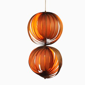 Double Globe Ceiling Lamp by Hans-Agne Jakobsson for Markaryd, 1960s