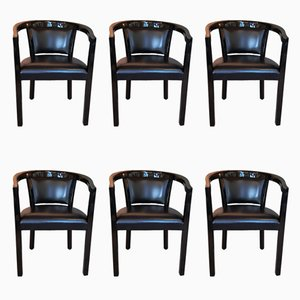 Armchairs by Robert Haussmann for Dietiker, 1970s, Set of 6