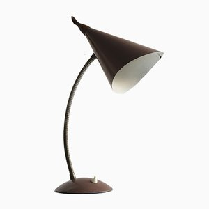 Mid-Century Gooseneck Table Lamp, 1950s