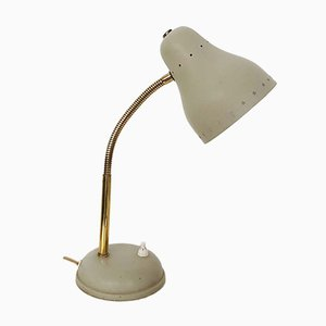 Beige Metal Desk Light by H. Th. J. A. Busquet for Hala, 1960s