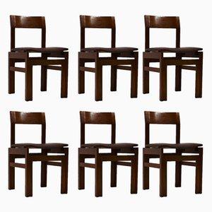 Vintage Stühle von Van Den Berghe Pauvers, 1960er, 6er Set