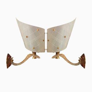 Vintage Wandlampen von Pierre Guariche, 1950er