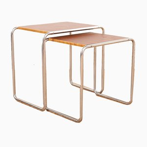 Bauhaus B9 Nesting Tables by Marcel Breuer