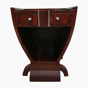 Art Deco Bedside Table, 1930s