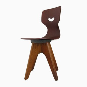 German School Chair by Adam Stegner for Pagholz Flötotto, 1960s