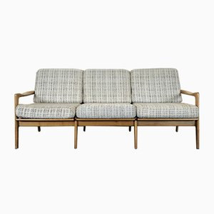 Vintage Danish Three-Seater Sofa