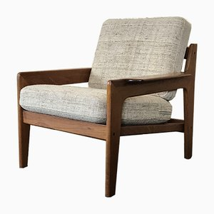 Vintage Danish Teak Easy Chair by Arne Wahl Iversen for Komfort