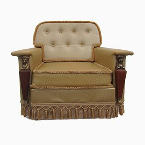 Fauteuil Style Empire Vintage, 1960s
