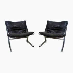 Pirate Sessel von Elsa & Nordahl Solheim für Rybo Rykken & Co, 1970er, 2er Set