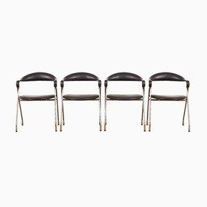 Vintage Saffa Chairs by Hans Eichenberger for Dietiker, Set of 4