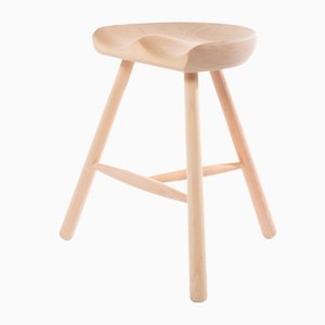 Beech Shoemaker Chair No. 49 from Form&Refine