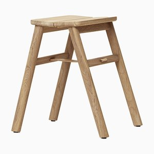 Oak Angle Stool from Form&Refine