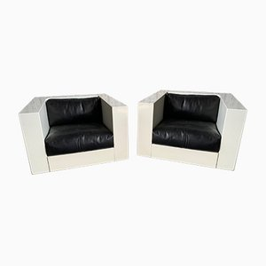 Saratoga Chairs by Massimo Vignelli for Poltronova, 1960s, Set of 2