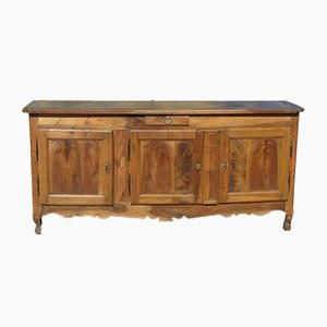 Antique French Walnut and Cherry Sideboard