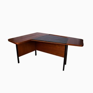 Danish Angle Writing Desk, 1950s