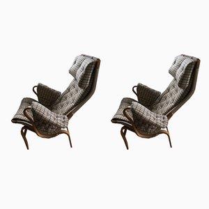 Vintage Pernilla Chairs von Bruno Mathsson für DUX, 1970er, 2er Set